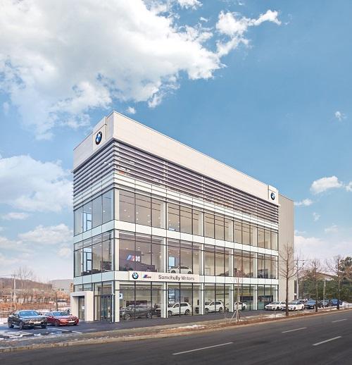 BMW 삼천리 모터스, 청주 전시장 확장 이전 오픈